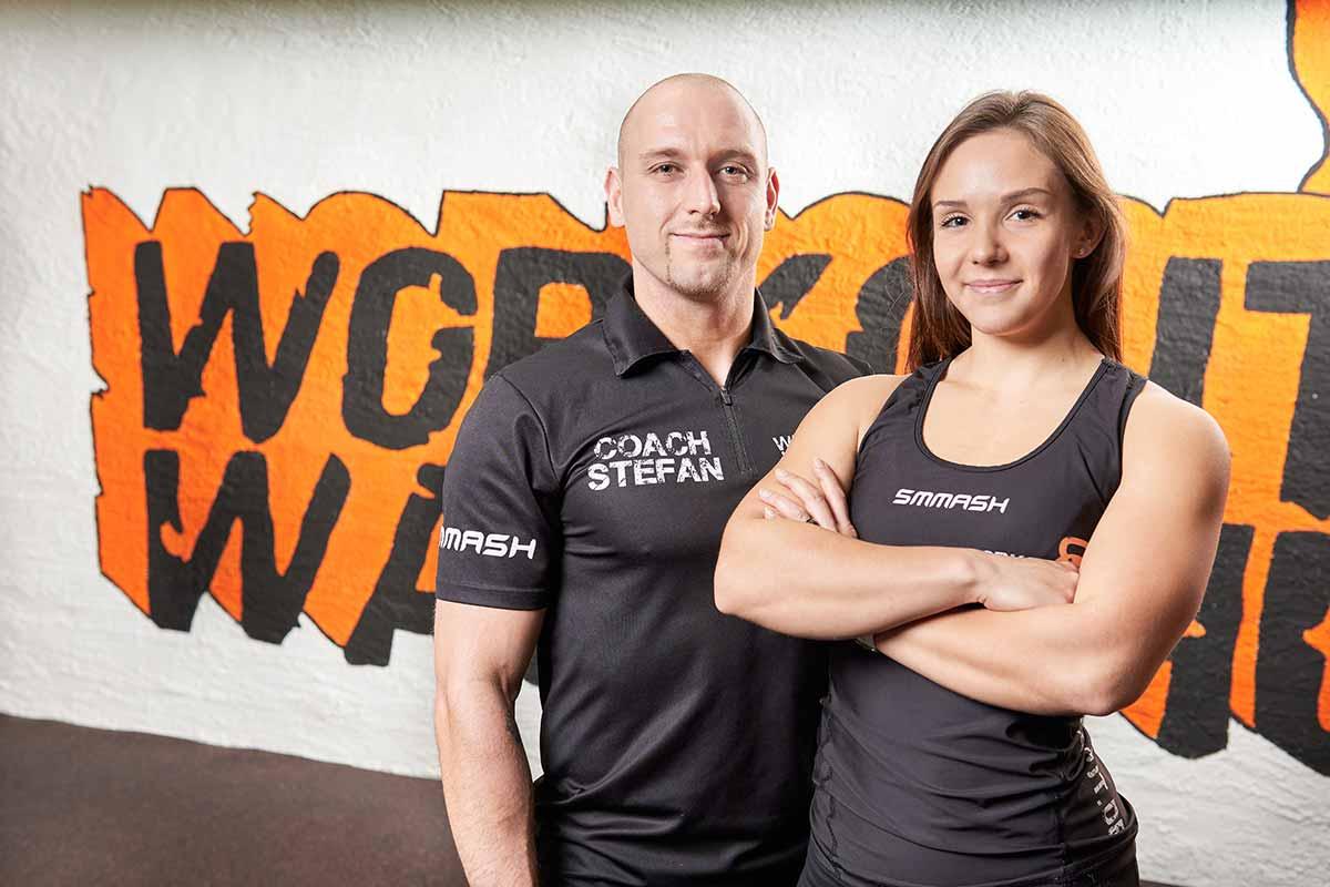 Functional Fitness – Hier siehst du Stefan und Zoé